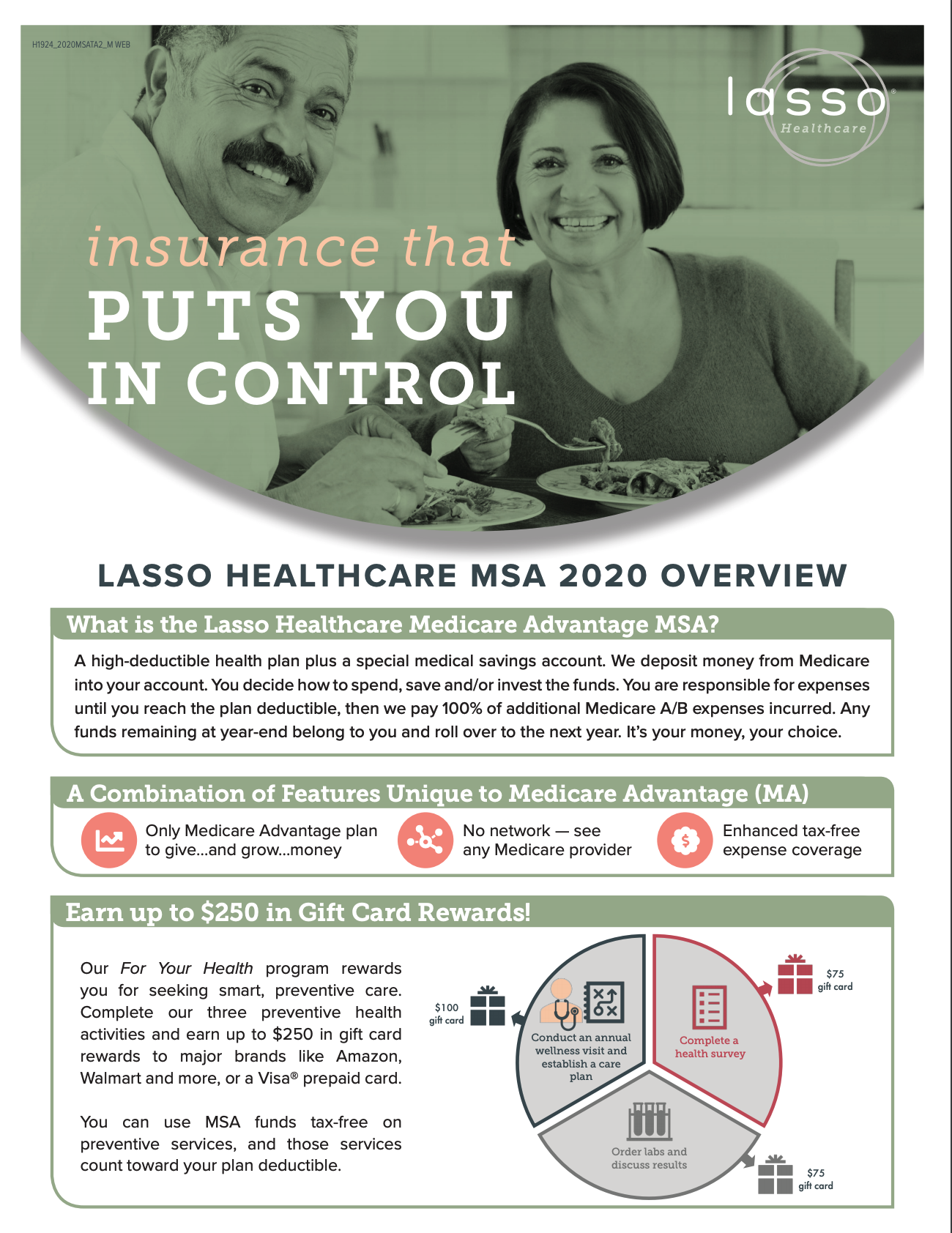 2020 Lasso Healthcare MSA Client Leave Behind