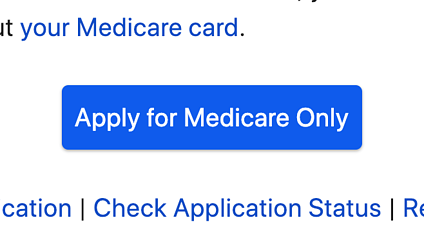 Apple for Medicare Only