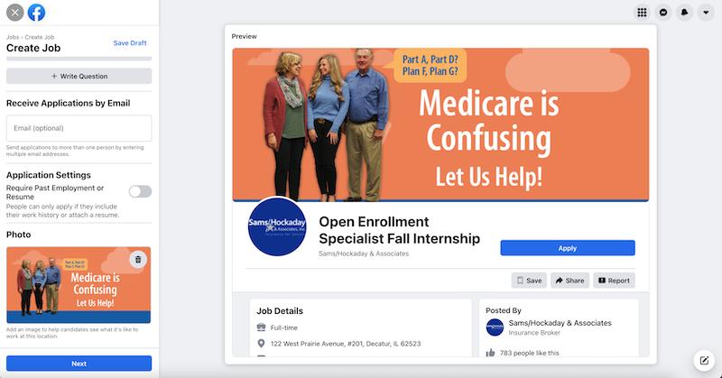 Facebook-job-description-example-medicare-intern
