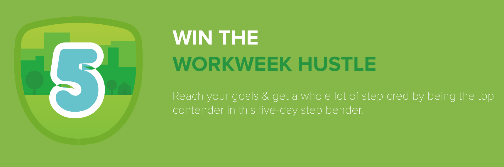 FitBit workweek hustle challenge for insurance agencies