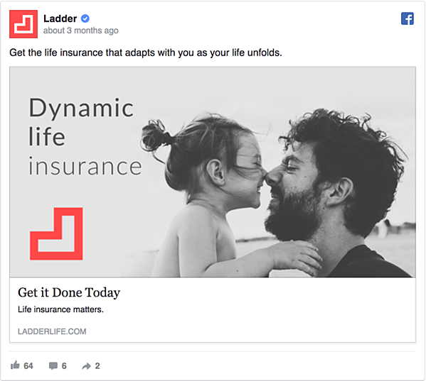 Ladder Facebook Ad