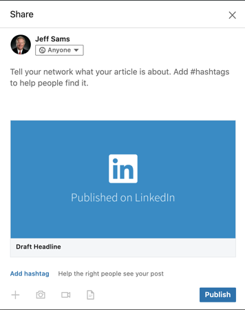 LinkedIn-for-Agent-Recruiting-Add-Content-Step2-share-on-timeline