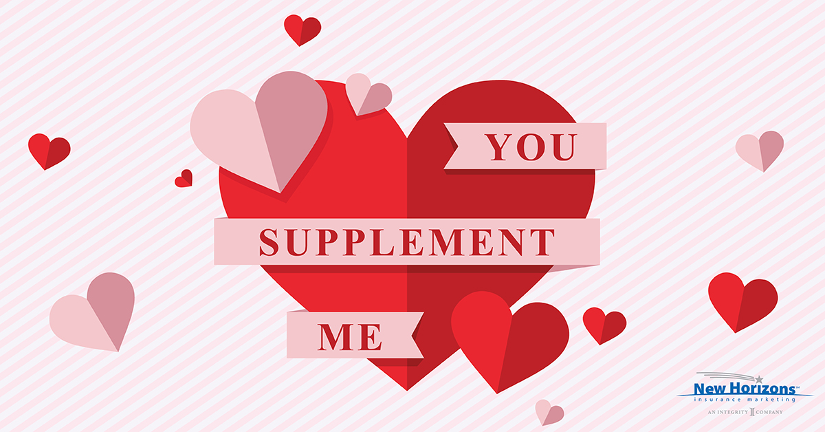 Valentine Card - You Supplement Me