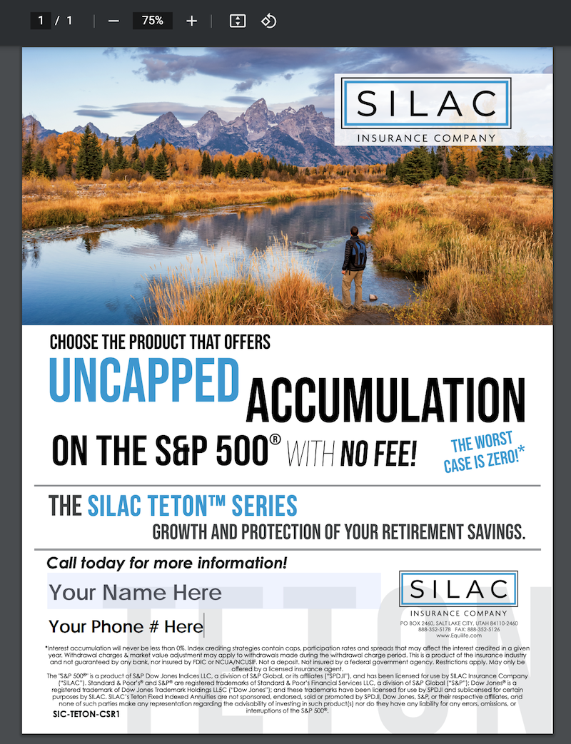 SILAC-annuity-ad-example