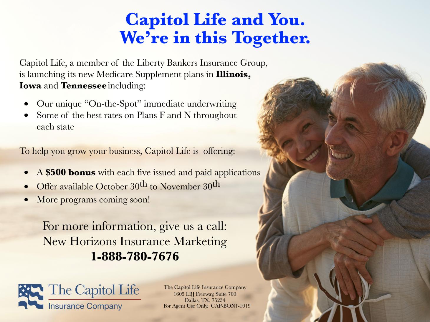 Capitol Life Bonus