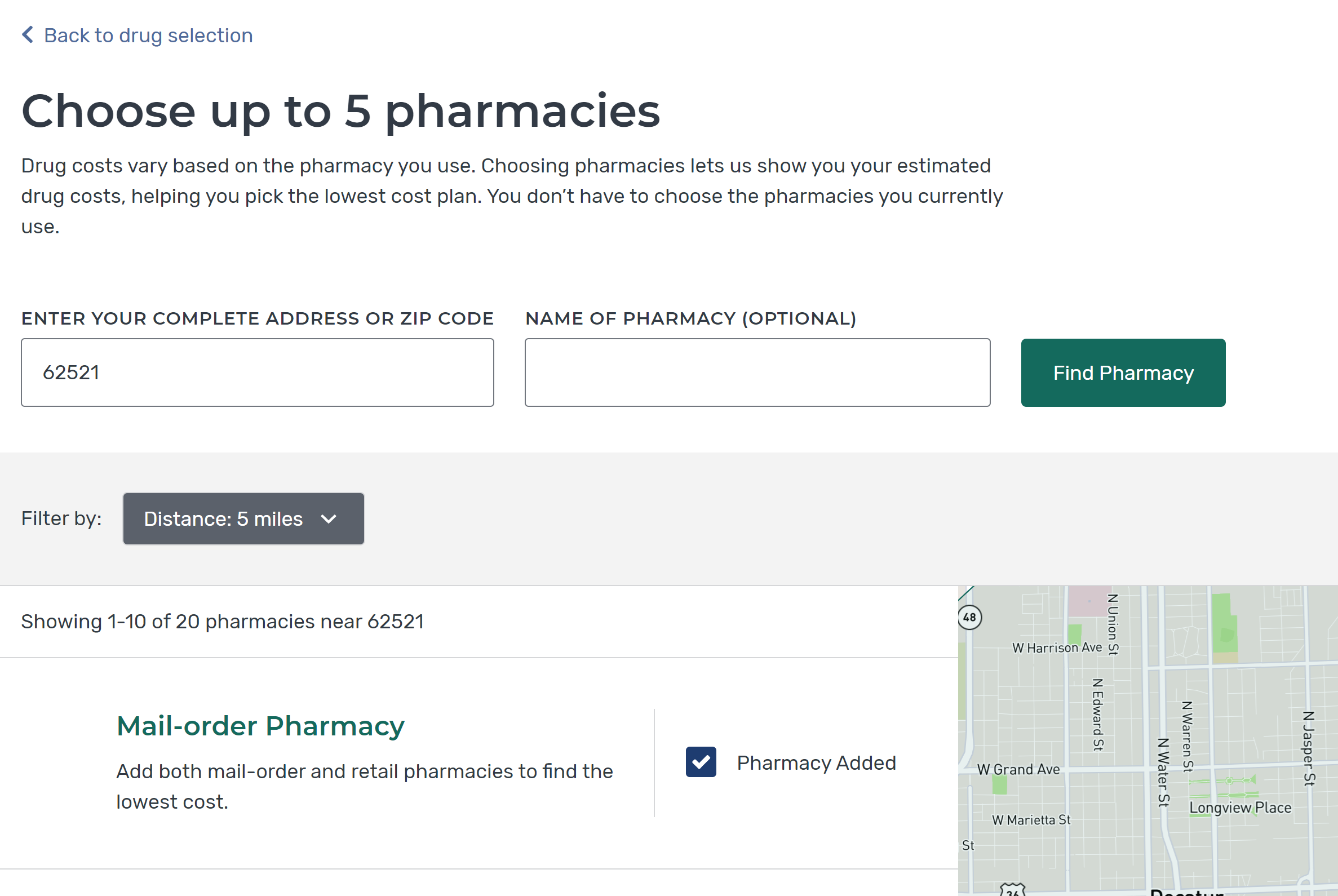 choose-up-to-5-pharmacies-medicare-plan-finder