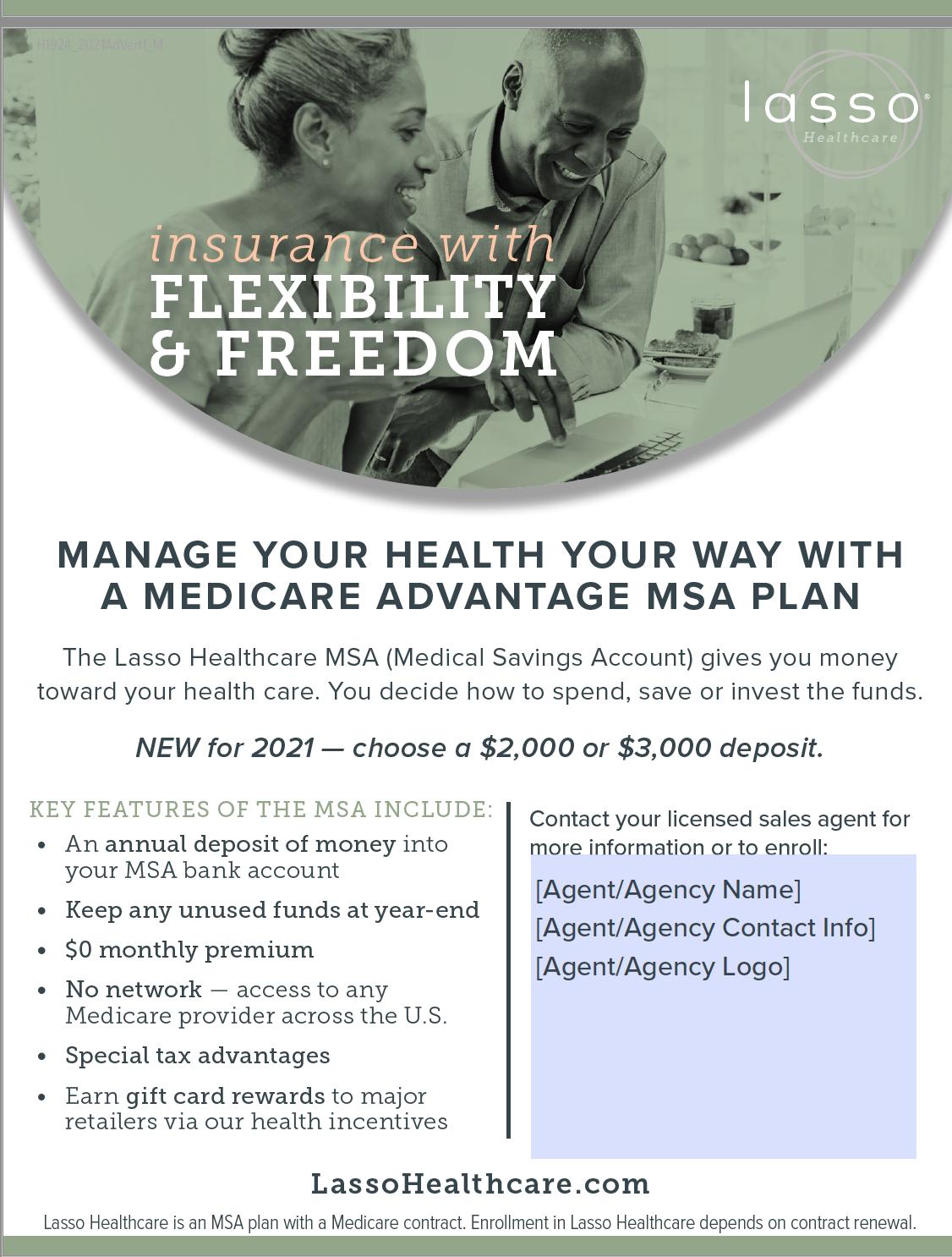 lasso-healthcare-msa-2021-print-ad-example-2