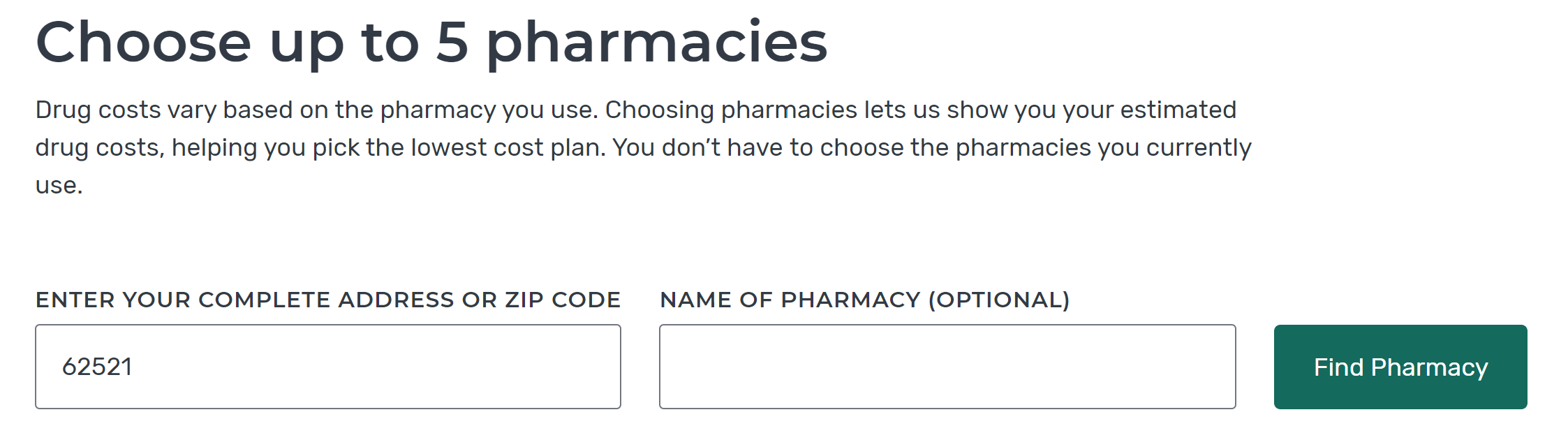 new-pharmacy-search-options