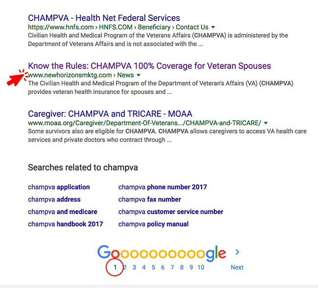 CHAMPVA Article