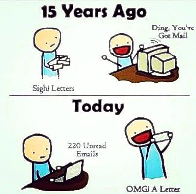 lettersvsemail