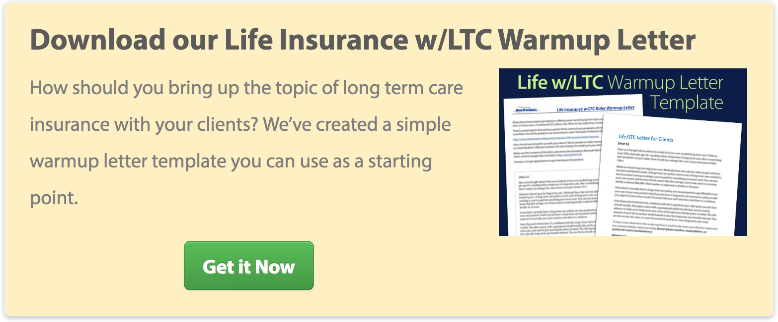 Life w/LTC Warmup Letter