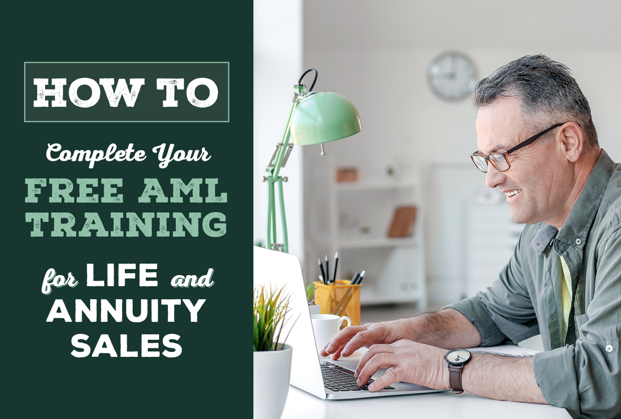 How to Complete Your Free AML Training for Life and Annuity Sales