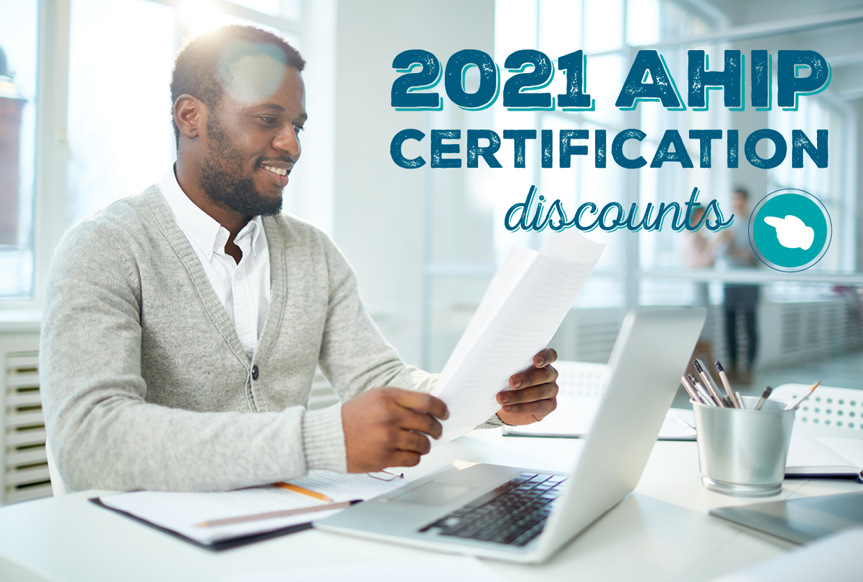 2021 AHIP Certification Discounts
